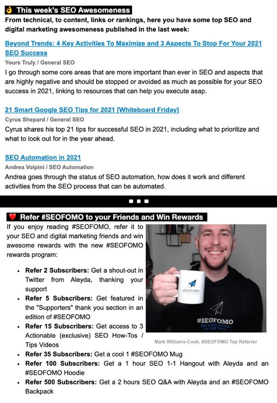#SEOFOMO - Best SEO Newsletter