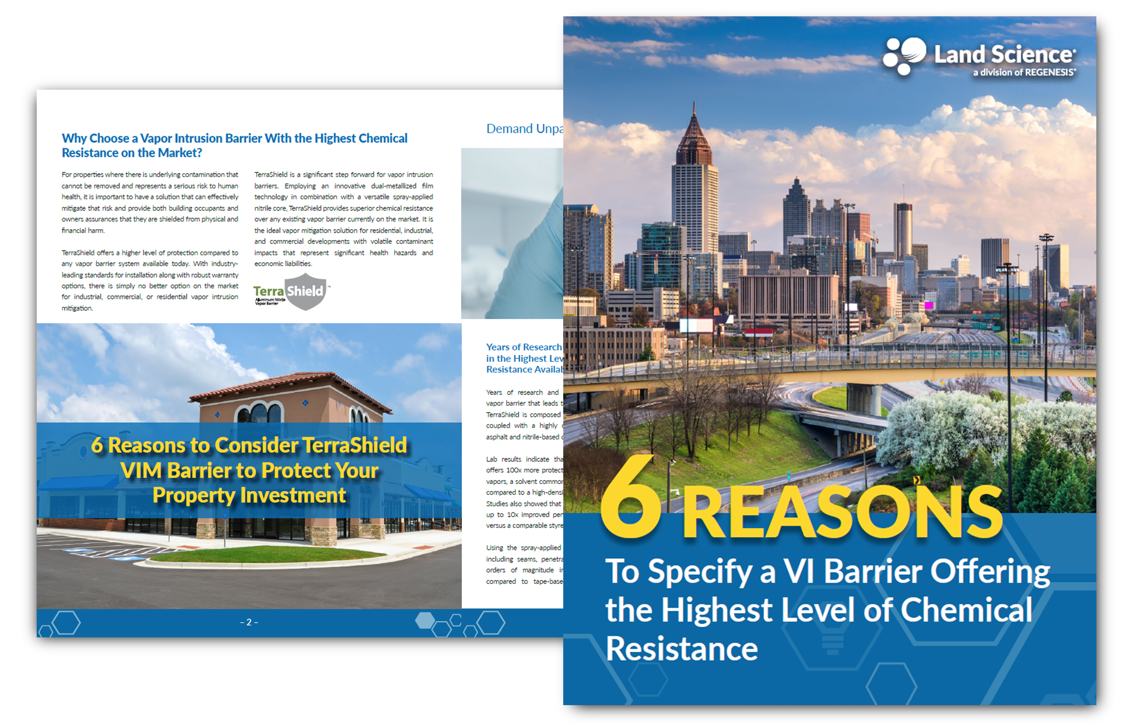 6 Reasons To Specify a VI Barrier Offering the Highest Level of Chemical Resistance