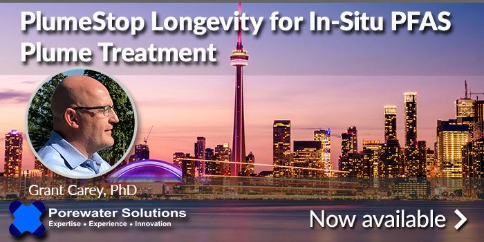 Webinar with PFAS Industry Expert, Dr. Grant Carey Presenting on PlumeStop Longevity