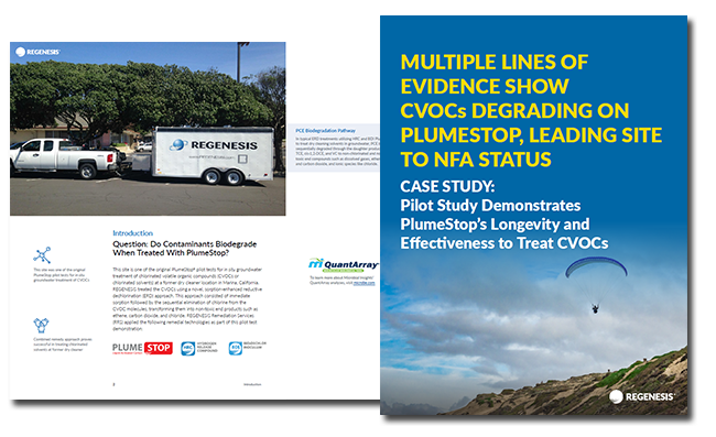 PlumeStop Effectively Degrades Contaminants to Lead Northern California Site to NFA Status
