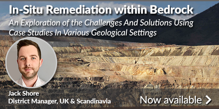 Newly Released Webinar Provides Guidance for In-Situ Remediation at Fractured Bedrock Sites