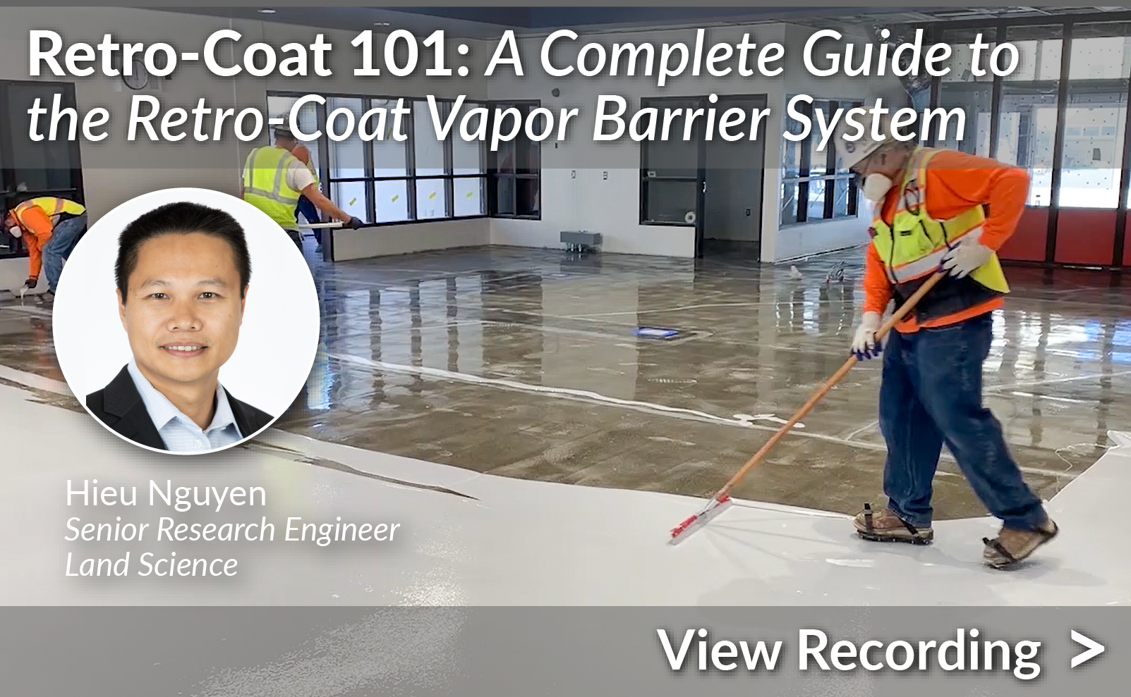 Retro-Coat 101: A Complete Guide to the Retro-Coat Vapor Barrier System