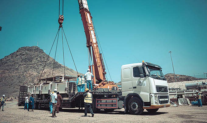 A picture containing sky, outdoor, truck, transport  Description automatically generated