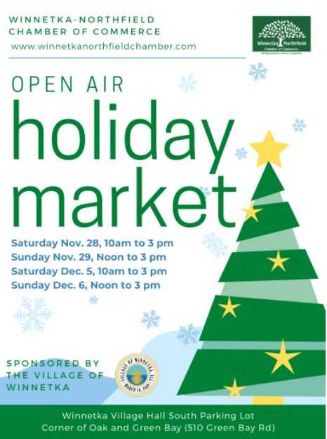 open air holiday market