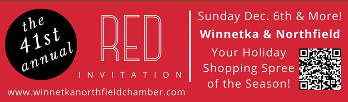 red invitation sale