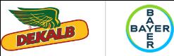 Bayer and DEKALB logo image