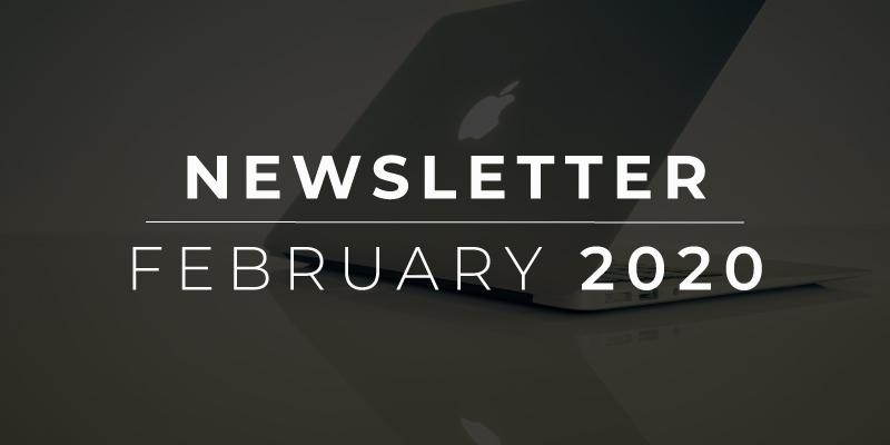 February 2020 Newsletter Image