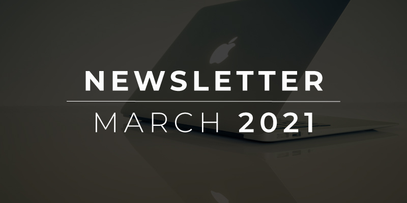 Newsletter March 2021 Feature Image