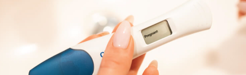 Picture of Positive Pregnancy Test