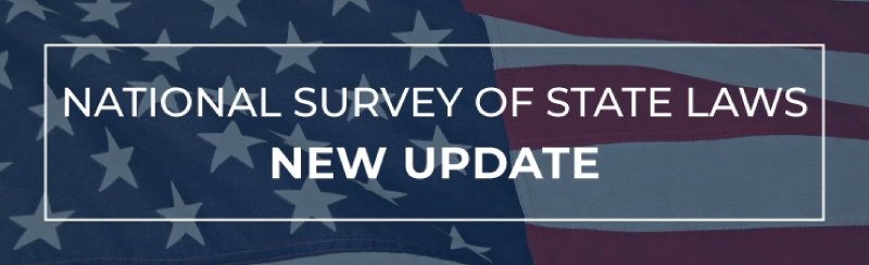 National Survey of State Laws Update