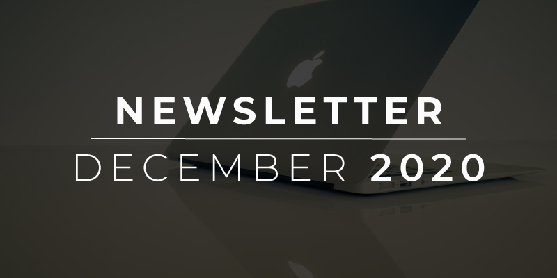 December 2020 Newsletter Feature Image
