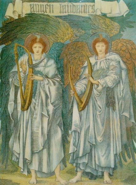Burne-Jones, Angeli Laudantes