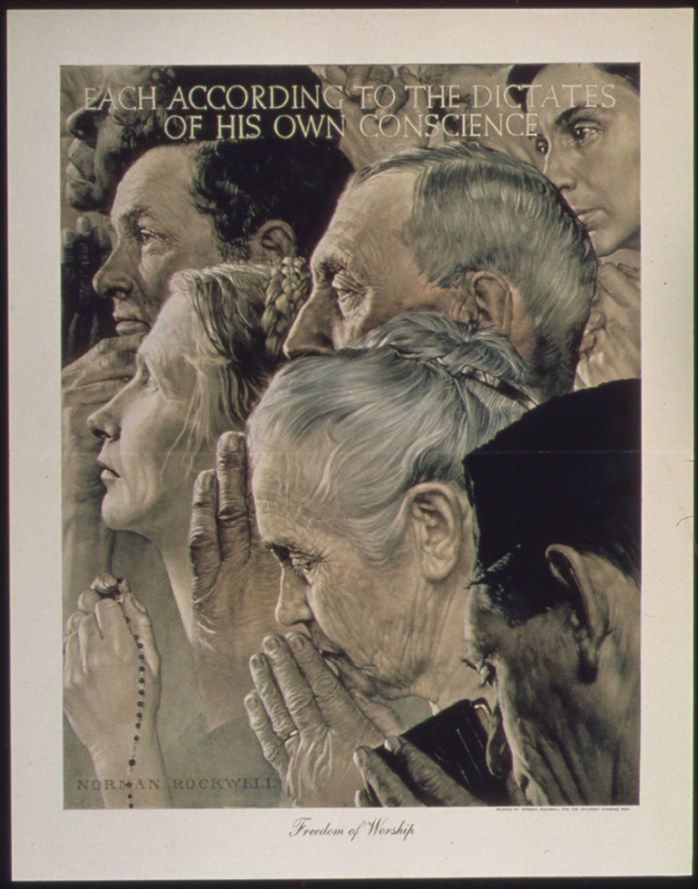 Rockwell Four Freedoms