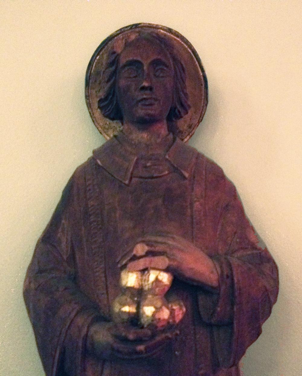 St Stephen Statue Detail