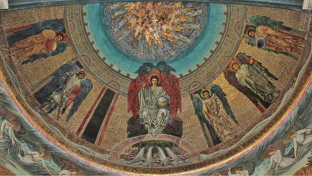 Burne-Jones Christ Enthroned