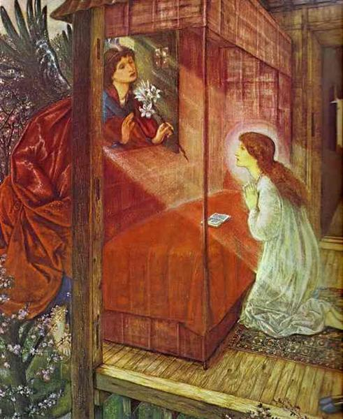 Burne-Jones, The Annunciation: The Flower of God