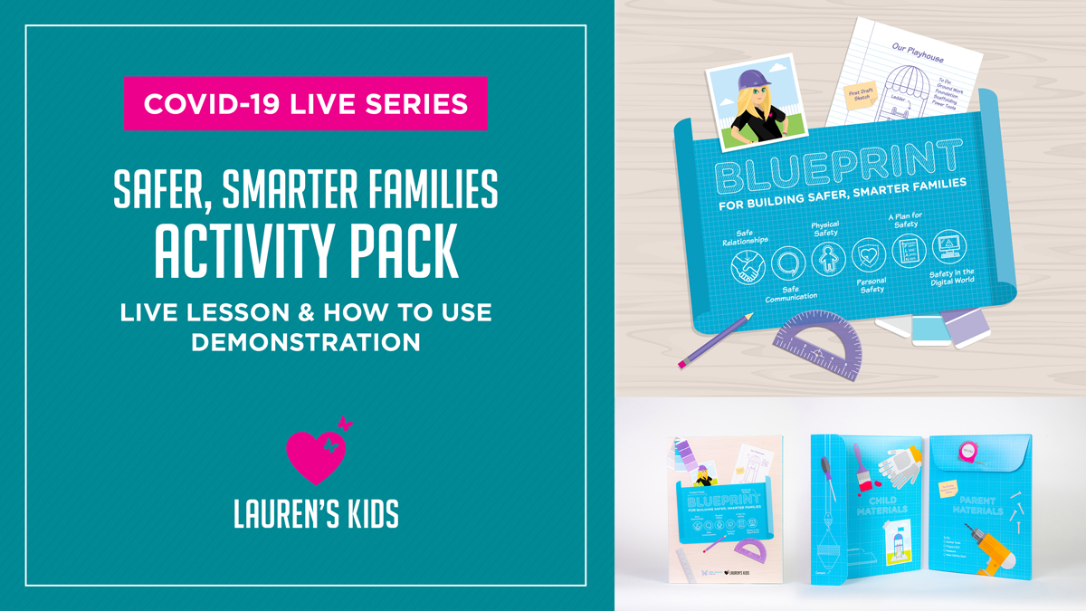 COVID-19 LIVE SERIES / Safer, Smarter Families Activity Pack / Live Lesson & How to Use Demonstration