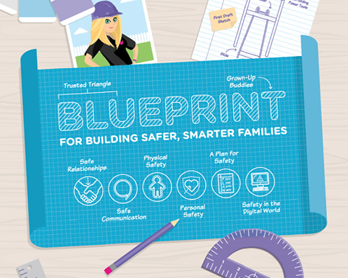 Blueprint for Building Safer, Smarter Families Activity Pack Logo