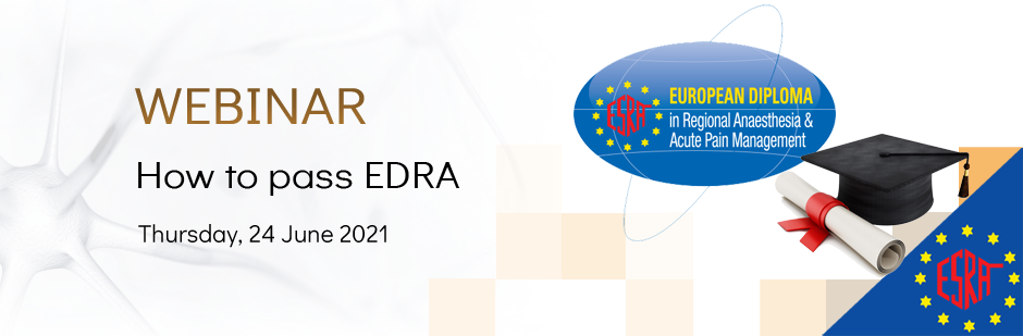 ESRA Webinar: How to pass EDRA