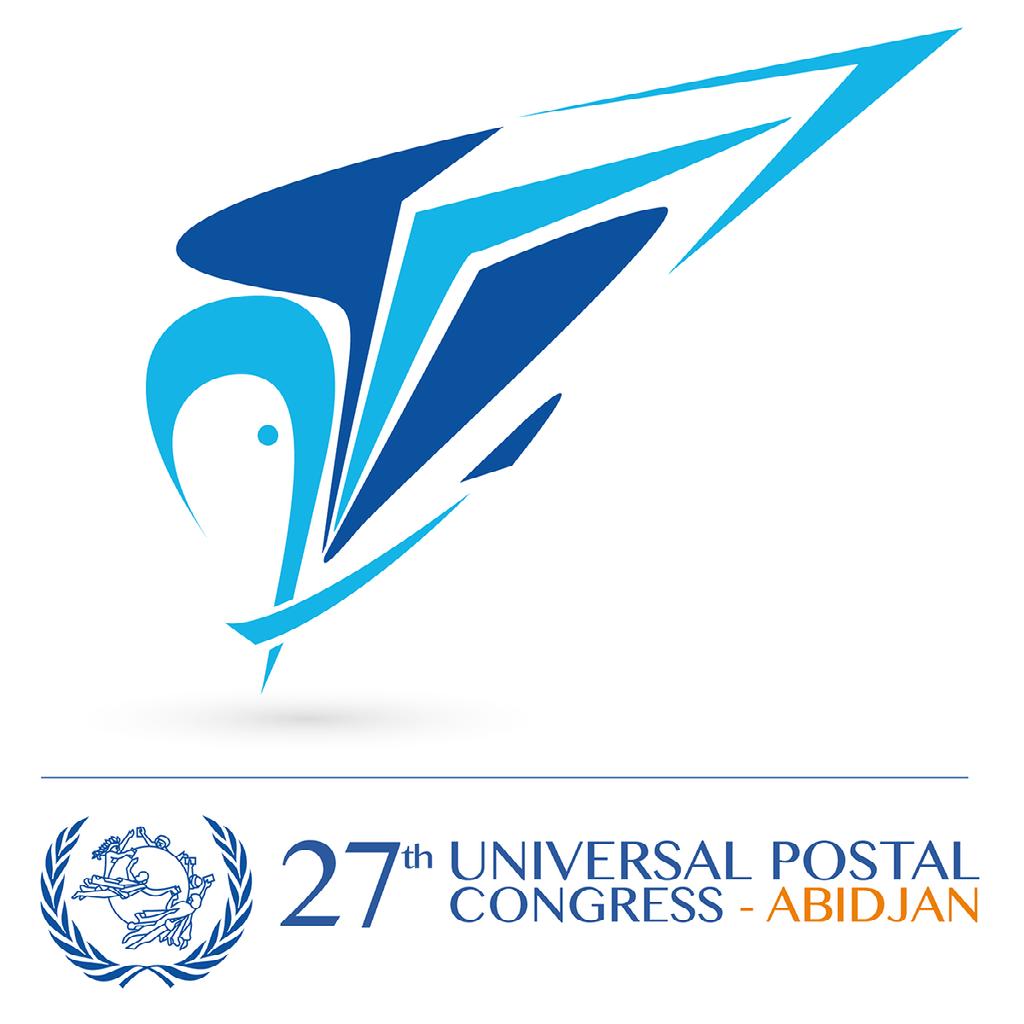 27th Universal Postal Congress logo