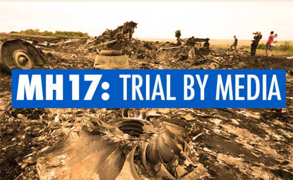 Press Event: 'MH17: Trial by Media' in The Hague