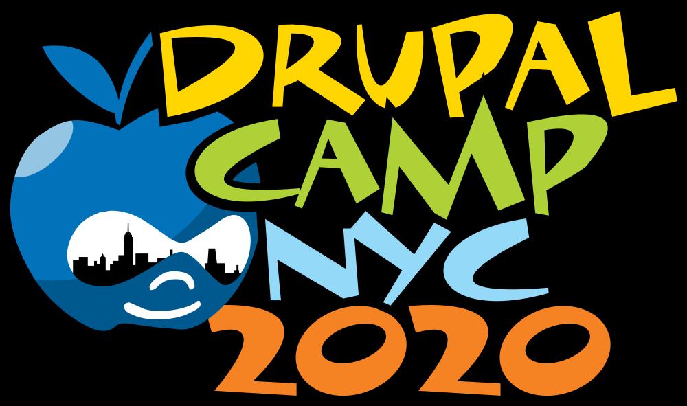 DrupalCampNYC 2020 logo