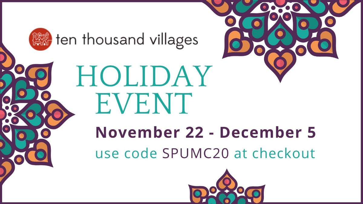 Ten Thousand Villages holiday