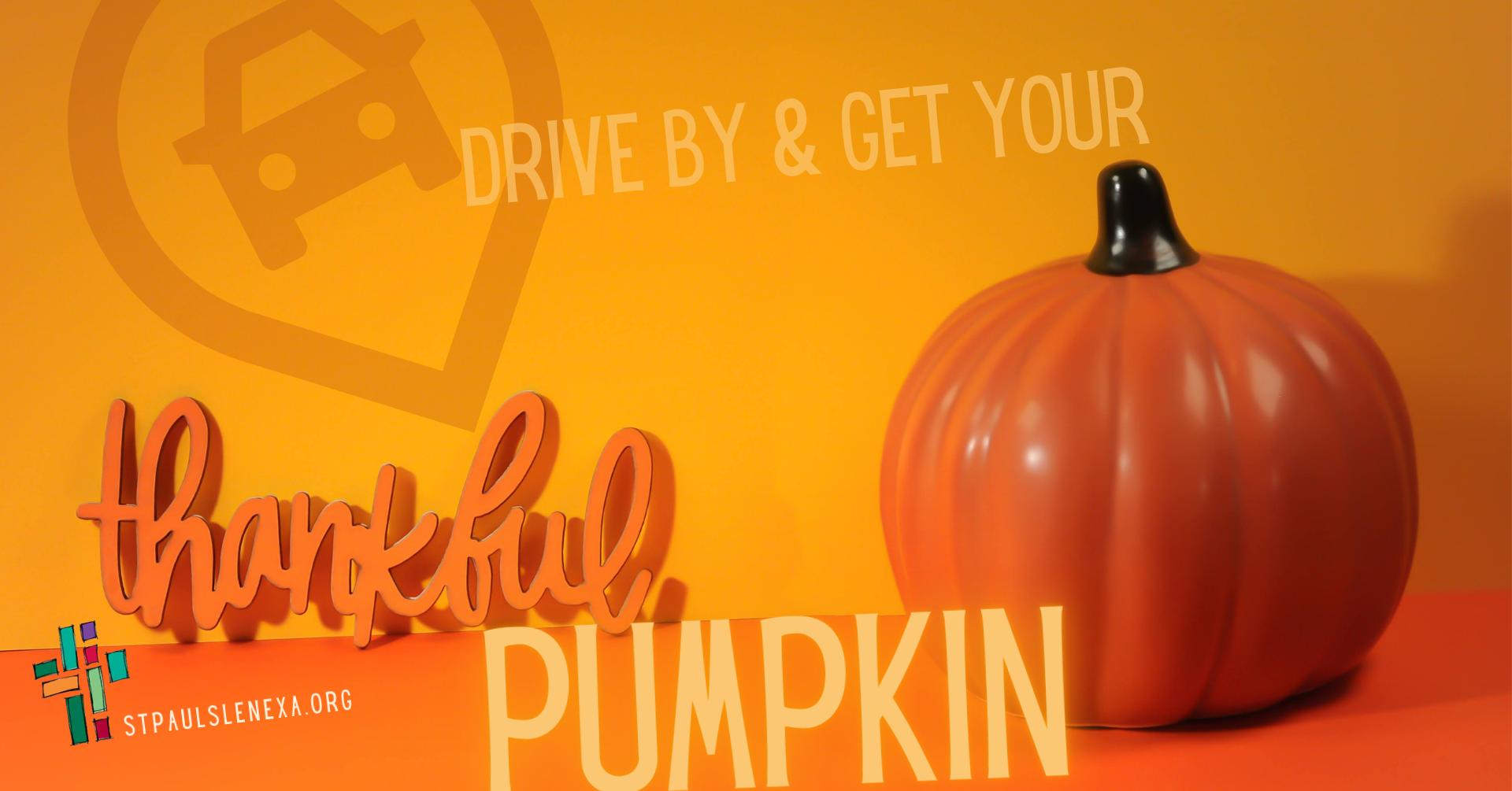 thankful pumpkin