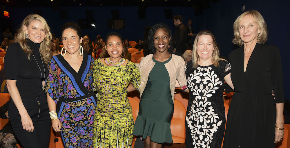 Honorees of the Women's Day Event