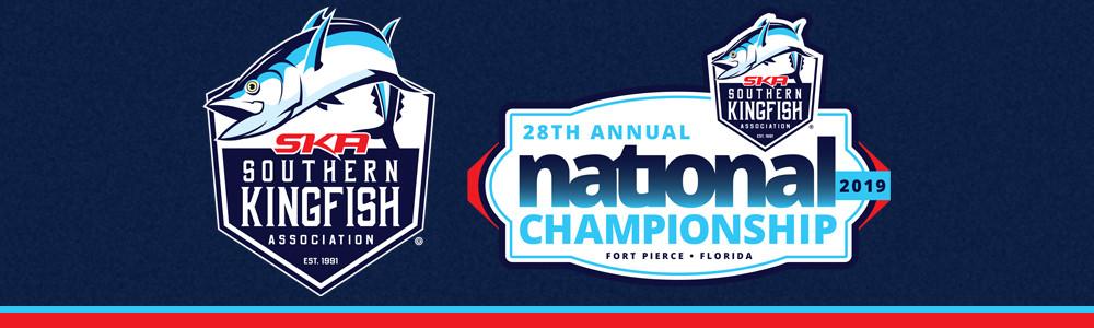 Southern Kingfish Association and National Championships logos.