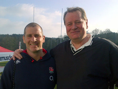 Stuart Lancaster - Former England Rugby Union Coach