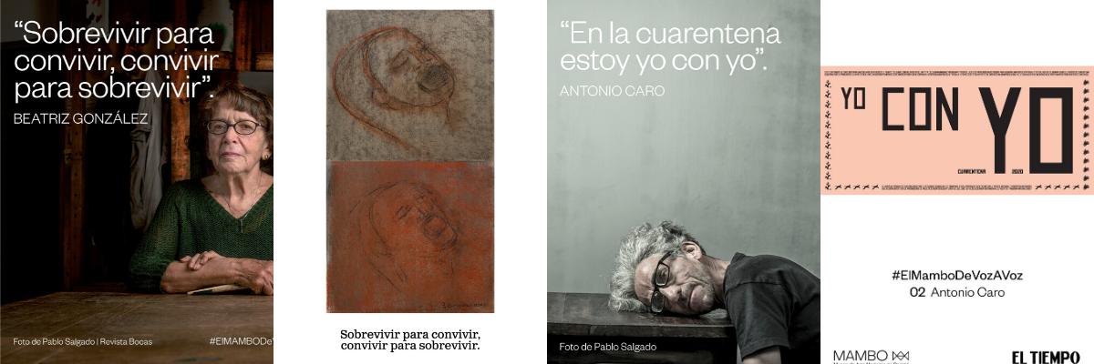 El MAMBO de Voz A Voz | Más de 50 artistas colombianos | El primer gran proyecto artístico de la pandemia.