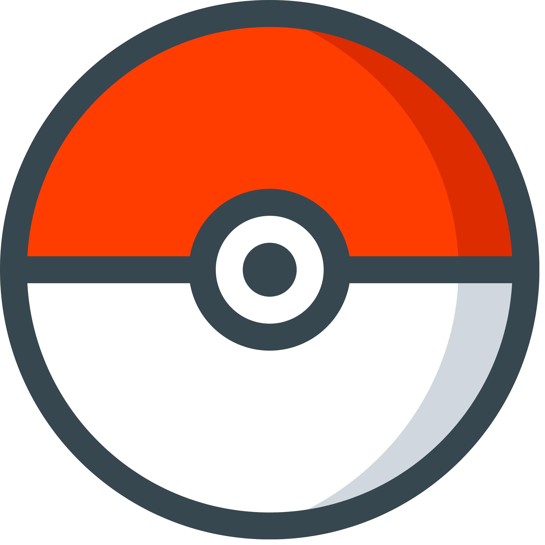 Pokemon Ball Free SVG