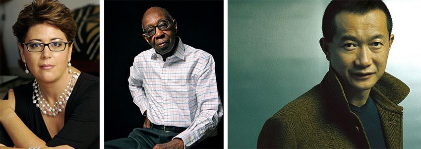 Composers Gabriela Ortiz, George Walker, and Tan Dun