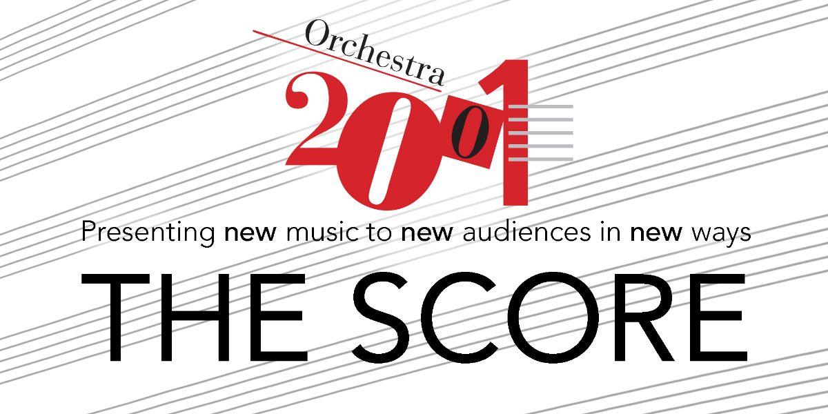 Orchestra 2001 / THE SCORE logo