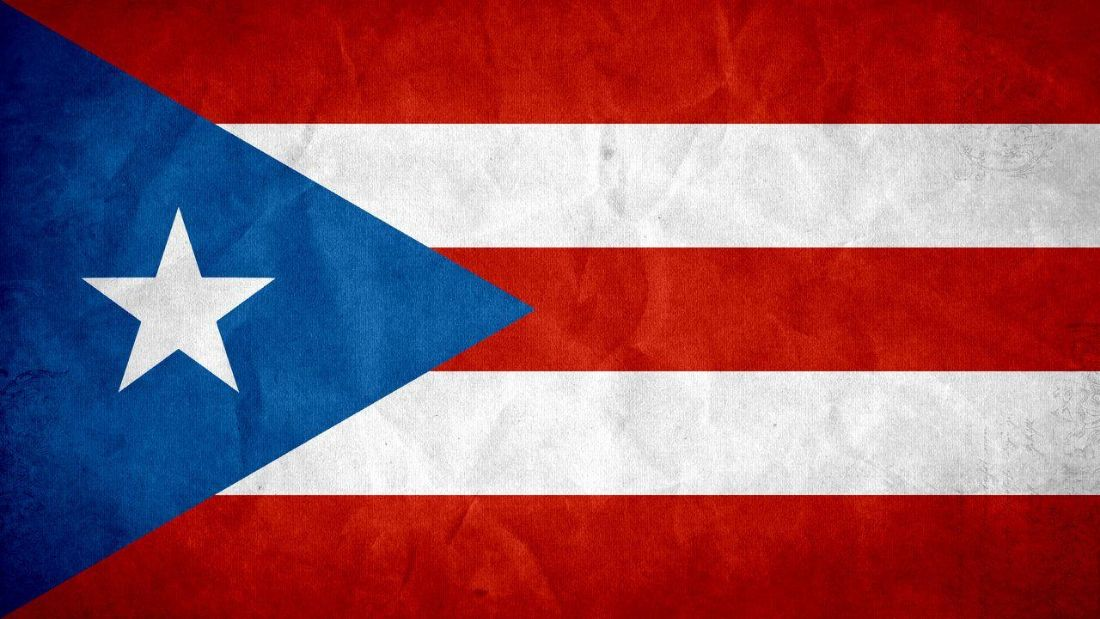 Puerto Rican Flag image