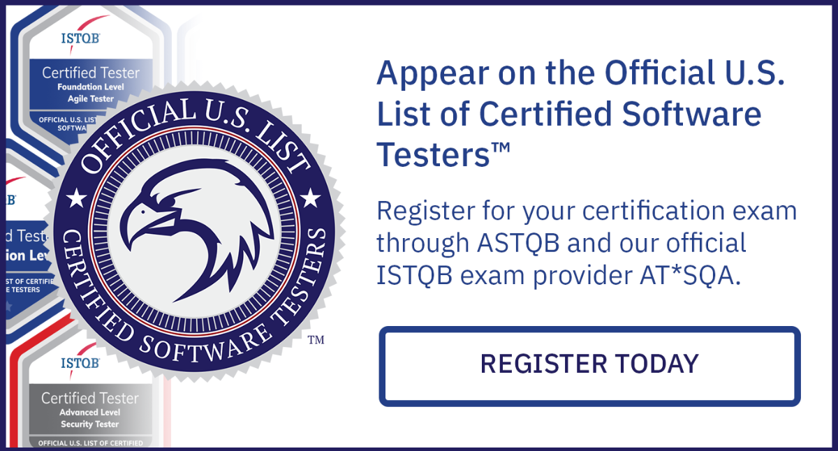 Official U.S. List of Certified Software Testers