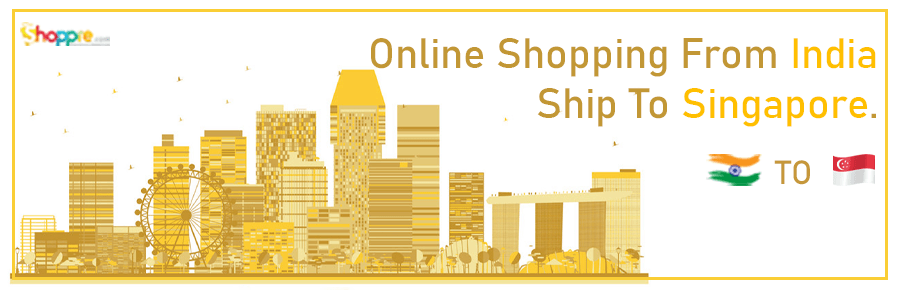 Online shopping India to Singapore
