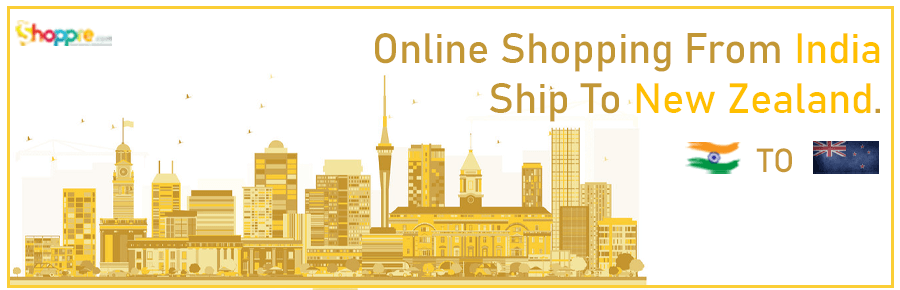 Online shopping India to New Zealand