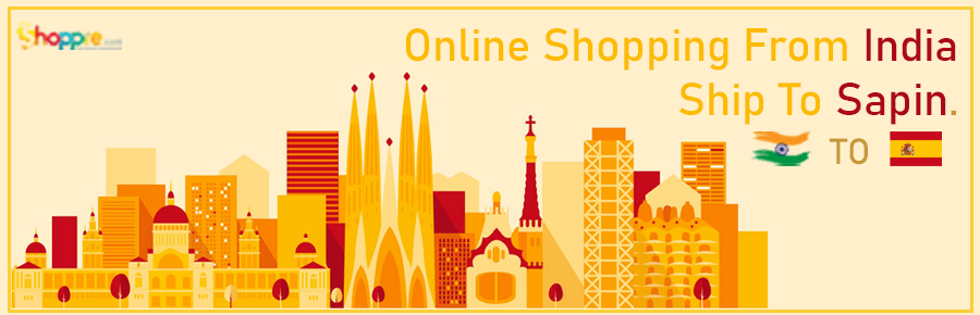 Online shopping from India to Spain