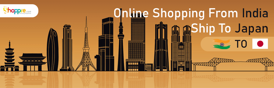 Online shopping from India to Japan