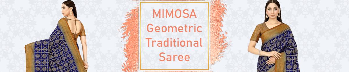 Mimosa Art Silk Traditional Saree