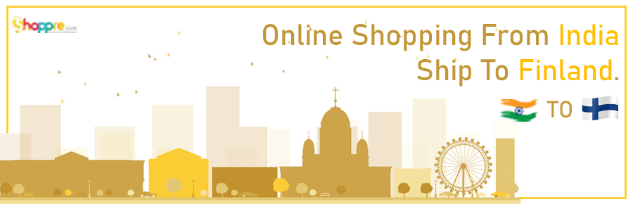 Online shopping India to Finland