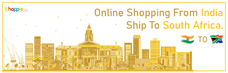 Online shopping India to South Africa