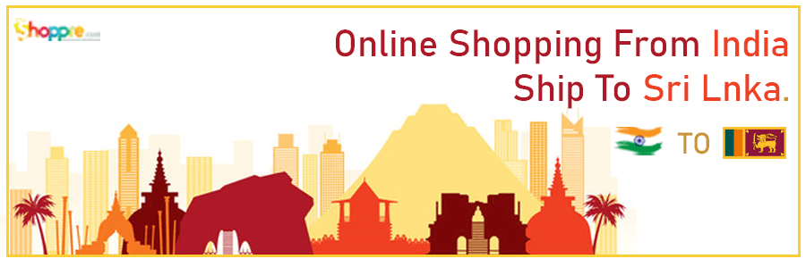 Online shopping India to Sri Lanka