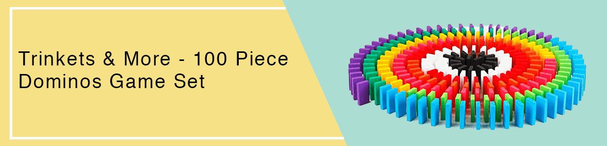 100 Piece Dominos Game Set