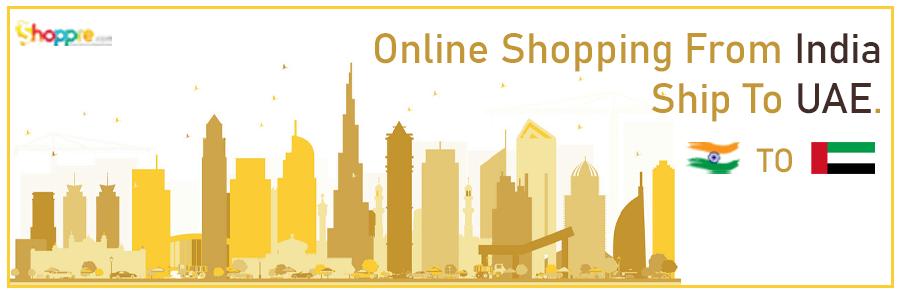 Online shopping India to UAE