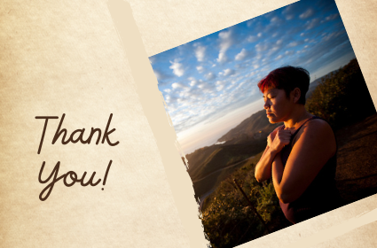 Thank you from Sylvie Minot