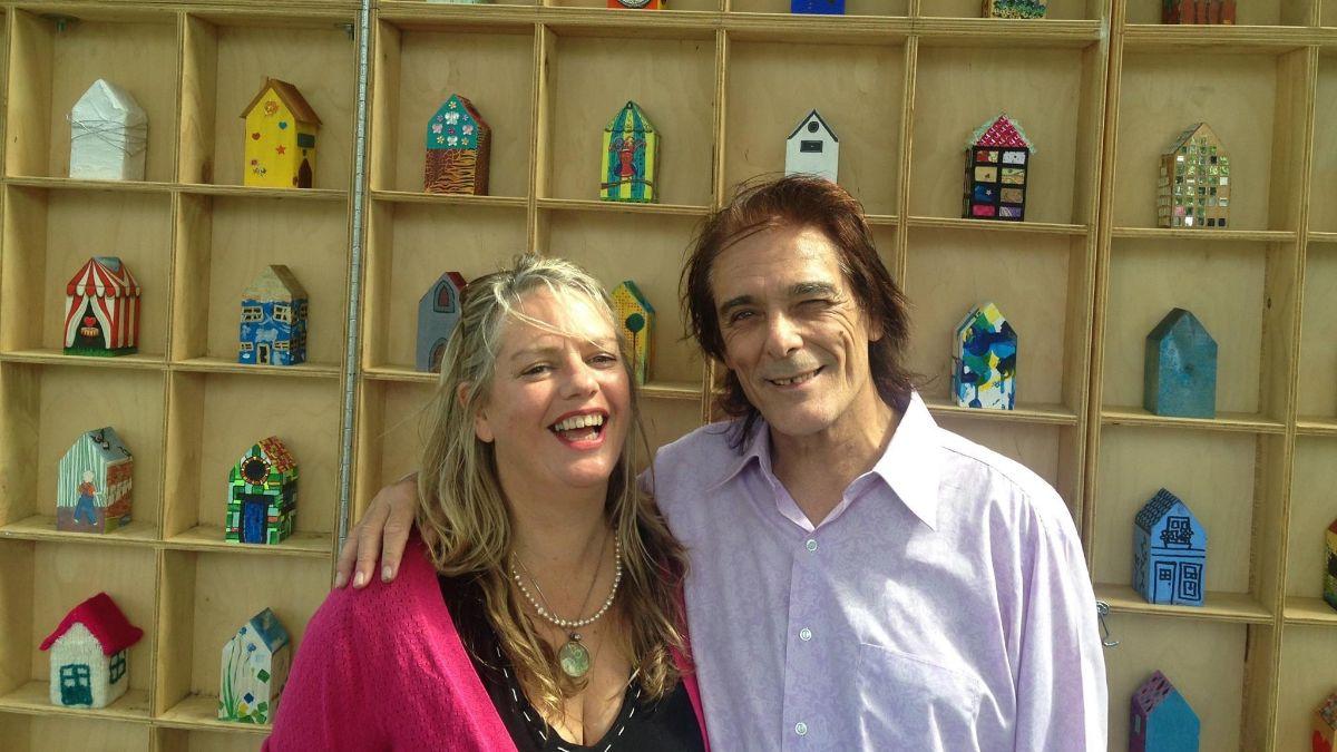 Rebecca Barnard and Billy Miller