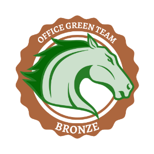 Seal for Bronze Office Green Team members